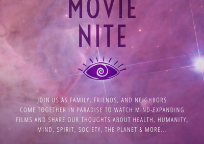 'Ohana Health Mindful Movie Nite Flyer