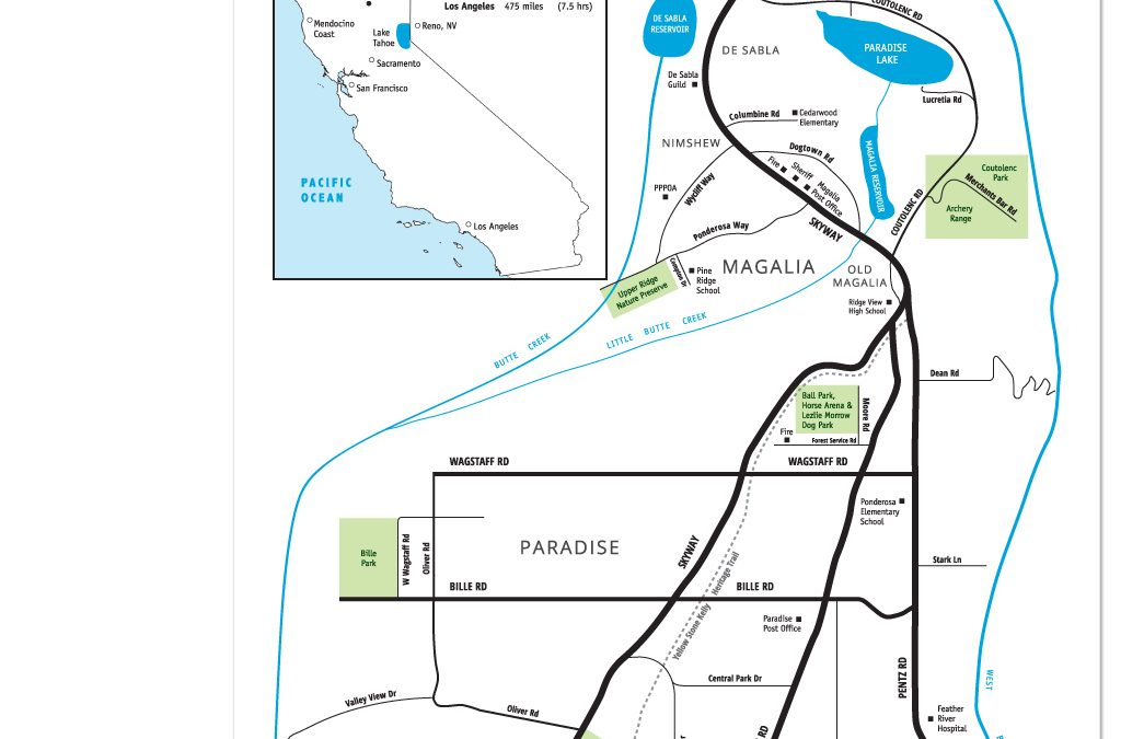 Paradise Ridge Lifestyle Map