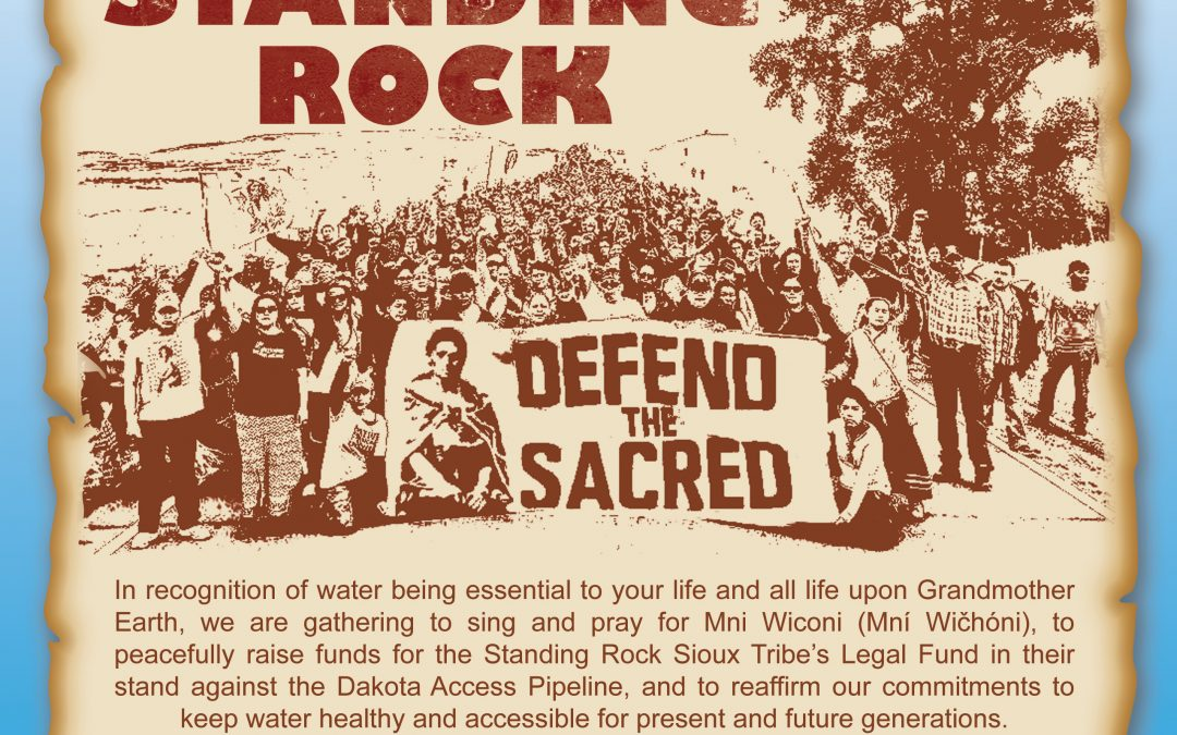 Stand With Standing Rock Flyer